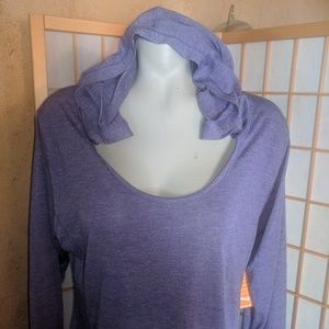 Avia, light polyester hoodie, NWTs, XXL